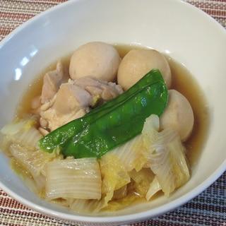 鶏もも肉と里芋・白菜の煮物