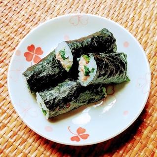 ツナとラディッシュの細巻き寿司