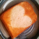 簡単☆ハートのトースト