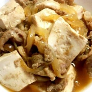 豚小間肉で☆肉豆腐♪