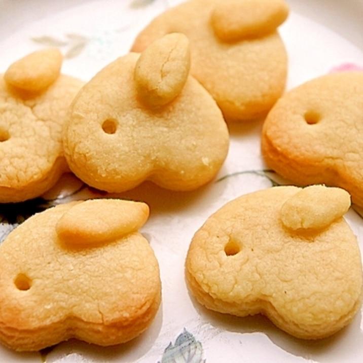 ハート型一つde子供が作る可愛いミニうさぎクッキー