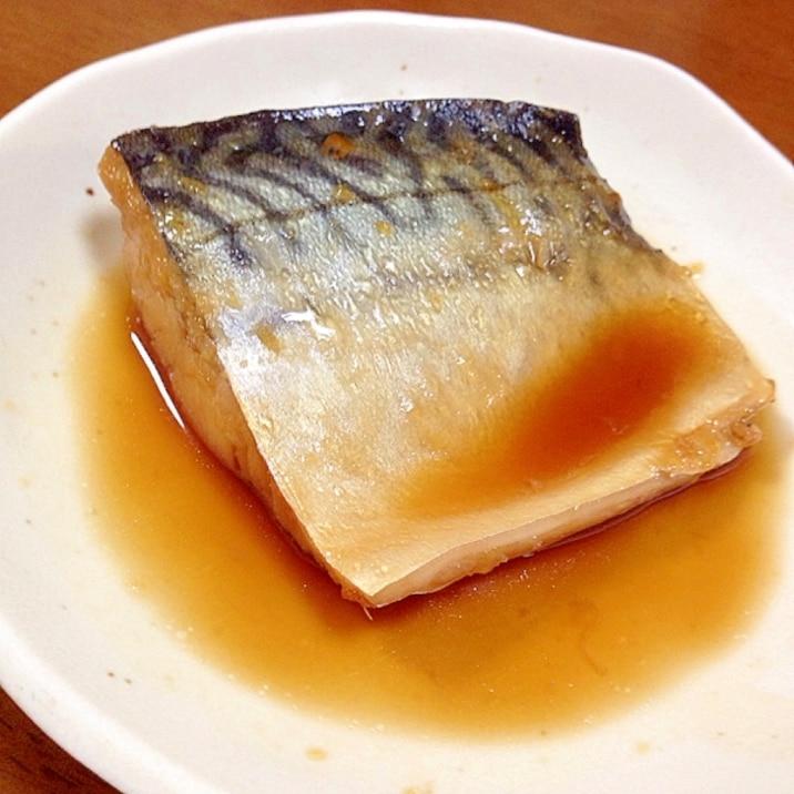 鯖 の 煮付け