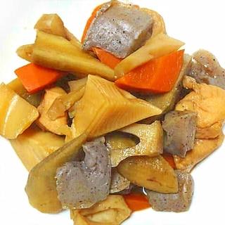 【作り置き】筍に根菜たっぷり筑前煮