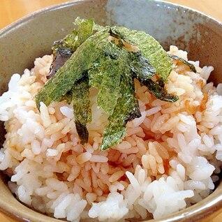 焼肉屋さんの韓国風タレかけご飯