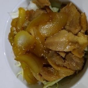 照り焼きソース黄金比✨焼鳥丼