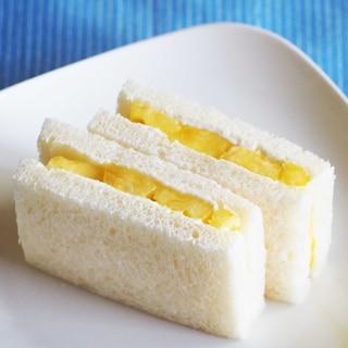 フルーツサンドイッチ♪ パイナップル☆彡
