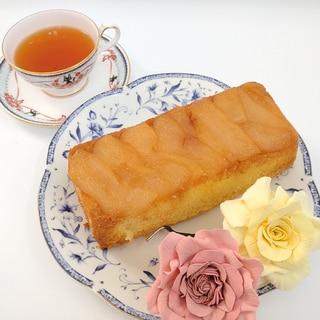 梨のタルトタタン風米粉のパウンドケーキ!