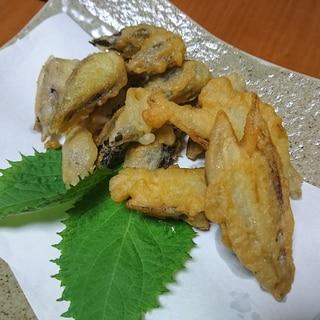 ミョウガの天ぷら