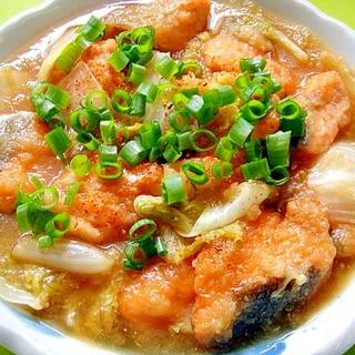 生鮭と白菜のみぞれ煮