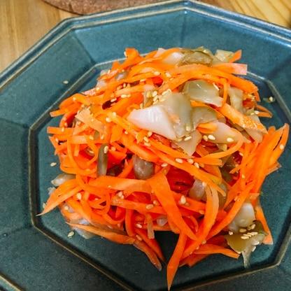 簡単★にんじんとザーサイの中華サラダ