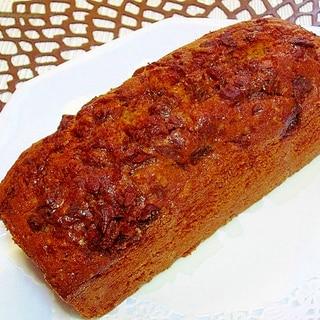 グルテンフリーな黒糖パウンドケーキ