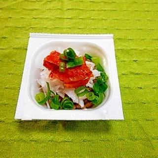 大根キムチ納豆