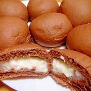 ミルククリームのココアパン