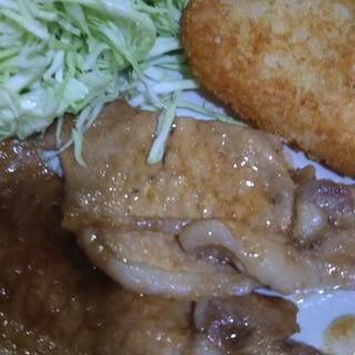 水あめと醤油で鶏肉の照り焼き(о´∀`о)