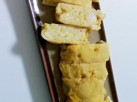 素朴 長芋とおだしを入れてたまご焼き
