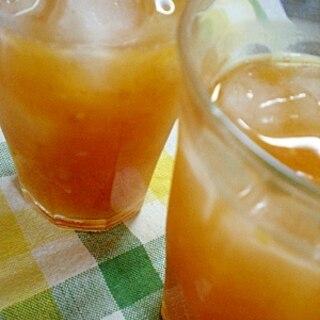 完熟柿で即席!果実酒