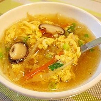 野菜たっぷり ちゅうかスープ