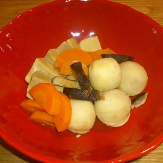 優しい副菜☆里芋と高野豆腐の煮物