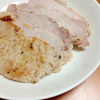 豚ロースブロック焼き