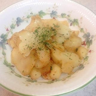 菊芋のバター炒め