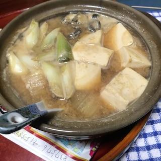牡蠣豆乳鍋