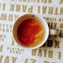 新玉ねぎとバジルのトマトスープ
