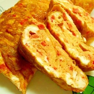 ハマる~ マヨ紅しょうが卵焼き