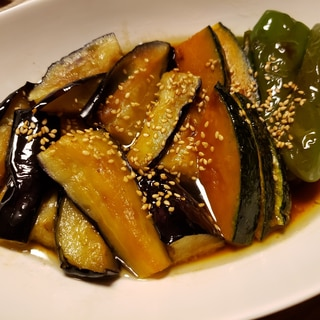 夏野菜の南蛮漬け