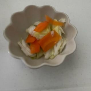 野菜の浅漬け(浅漬けの素使いません)