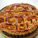 シナモン風味のシンプルなアップルパイ