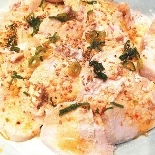 節約レシピ★鶏むね肉で 柔らか よだれ鶏