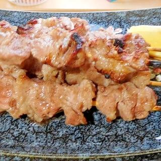 タン下の串焼き
