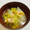 冬瓜のベーコンスープ煮