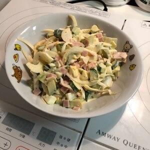 卵たっぷり♪アボカドサラダ