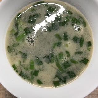 お茶碗で作るお味噌汁