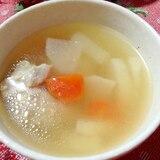 お肉柔らか〜♡鶏肉*大根*人参*塩麹スープ