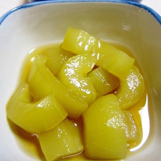 めんつゆで簡単!白瓜とろとろ煮
