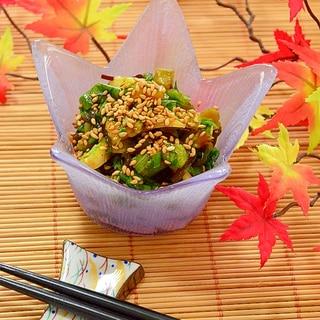 ポリ袋で簡単!セロリと塩昆布の☆常備菜