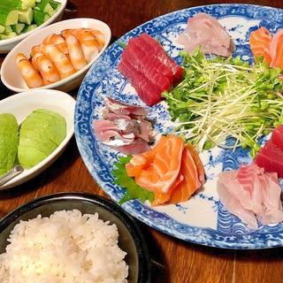 お好きな分だけ☆手巻き寿司パーティー