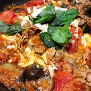 豚肉とトマトのイタリアン風チーズ煮込み♡