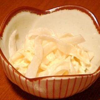 だいこんマヨネーズサラダ★