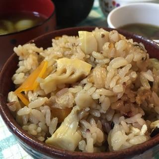 旬のたけのこご飯!雑穀米入り★