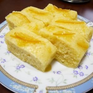 レンジで簡単!しっとりヨーグルト蒸しケーキ