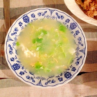 簡単☆キャベツと卵の中華スープ