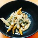 マテ貝の生姜煮