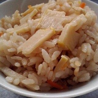 筍の硬い部分は炊き込みご飯