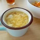 簡単10分☆ふわふわたまごの中華スープ♪