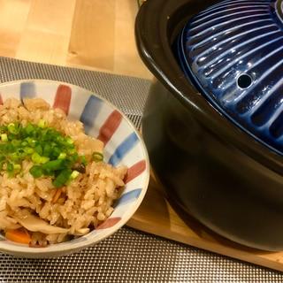 松茸のお吸物 炊き込みご飯