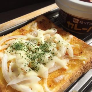 【パン】LOVEカルディ♡ぬって焼いたらカレーパン