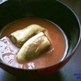 焼きナスの味噌汁
